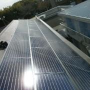 太陽光発電設置後屋根