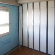 断熱リフォーム後の壁の様子