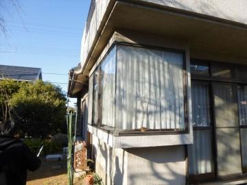 工事前出窓部 この部分を一面壁にしました。_R