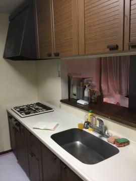 施工前キッチン3