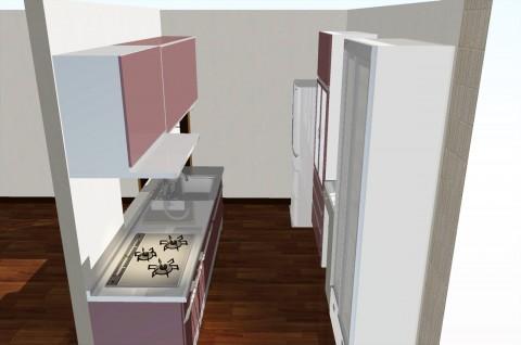 キッチン3Dイメージ
