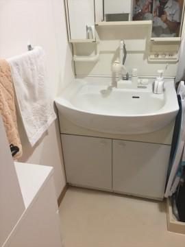 施工前洗面台 (2)