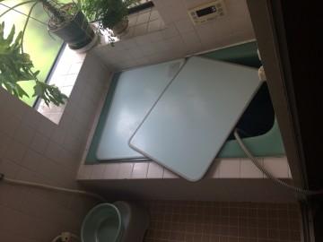 風呂 before