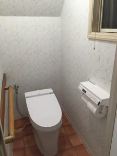 飛鋪邸 トイレ