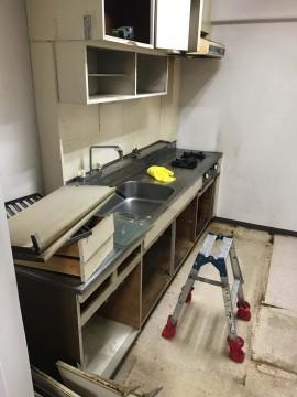 キッチン_解体