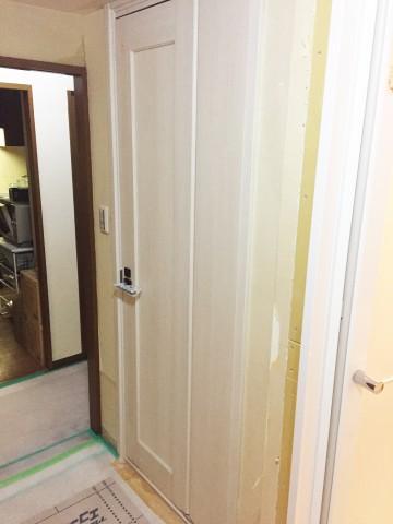 トイレドア後