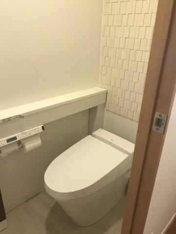 トイレ後①