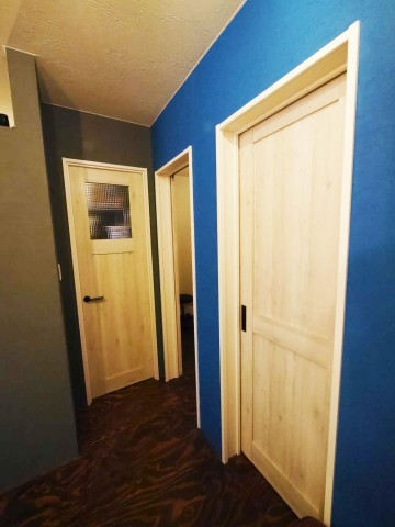 内装ドア後1fix
