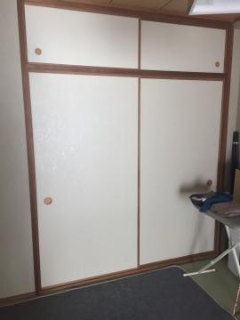 和室の押入施工前fix