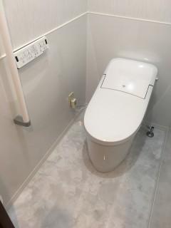 トイレ後②