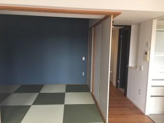 和室と廊下後