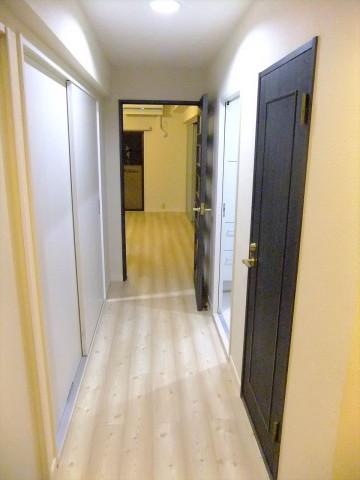 廊下改装後