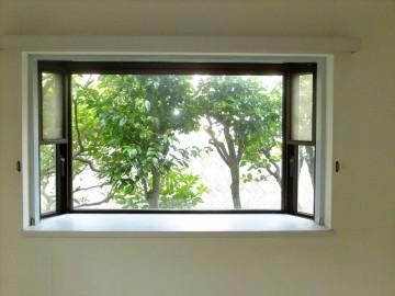 二重窓改装前