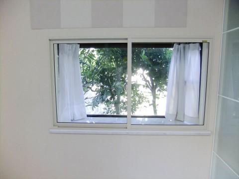 二重窓改装後