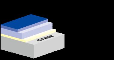 塗膜の構造断面図